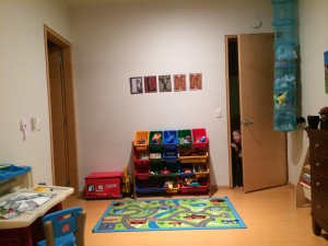 More of Flynn's room.