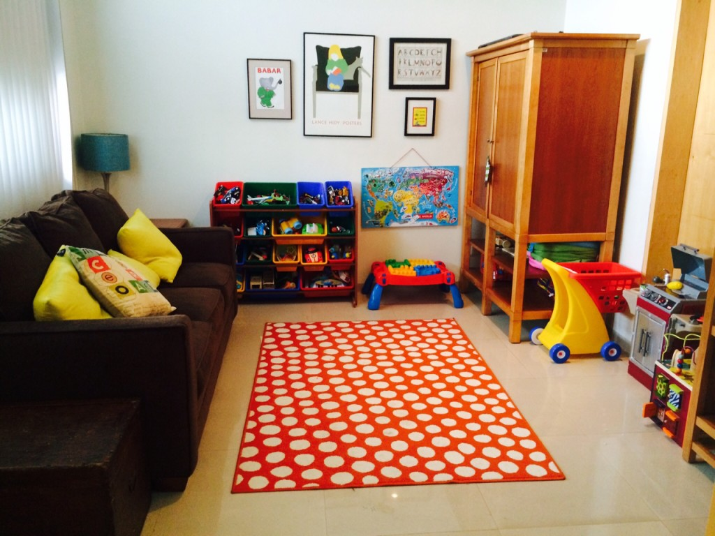 The play room.