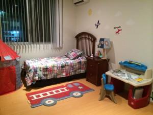 Flynn's room.